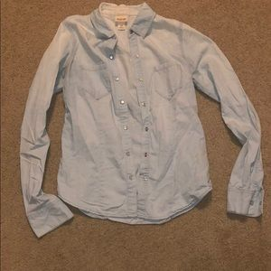 Washed up style jean jacket